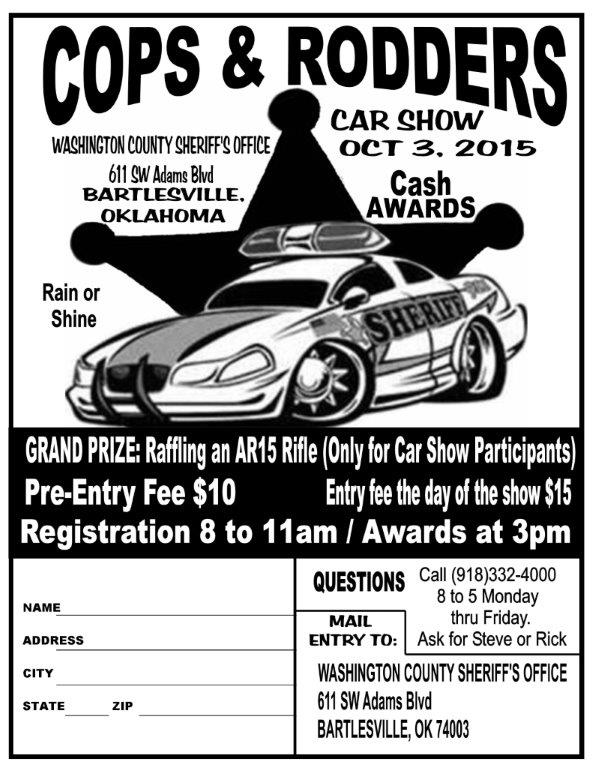 Cops Rodders Car Show Events Washington County Oklahoma - Car shows in washington state